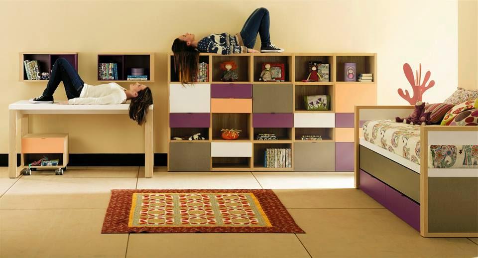 Выбираем мебель из Италии для ребенка от 3 лет до 6 лет