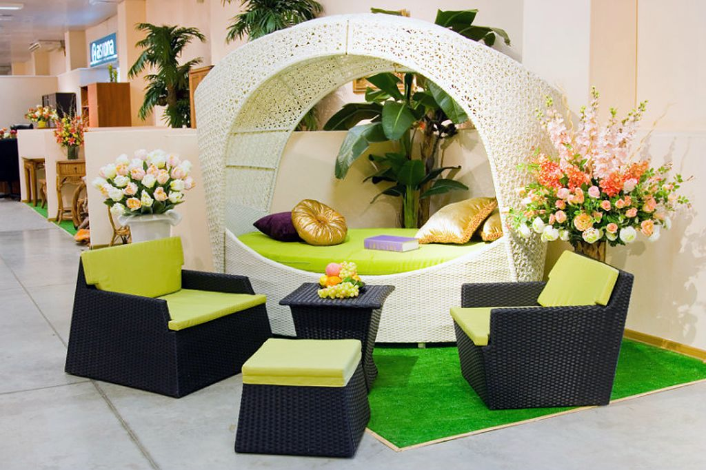 Выбираем мебель, созданная из ротанга