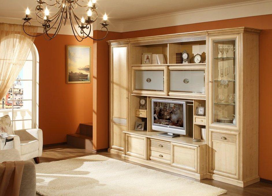 Выбираем мебель в гостиную классического стиля