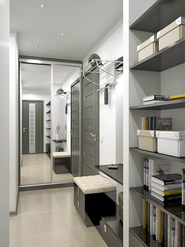 Выбираем современную мебель в узкий коридор