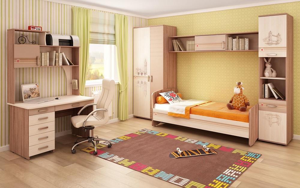 Выбираем современный детский набор мебели