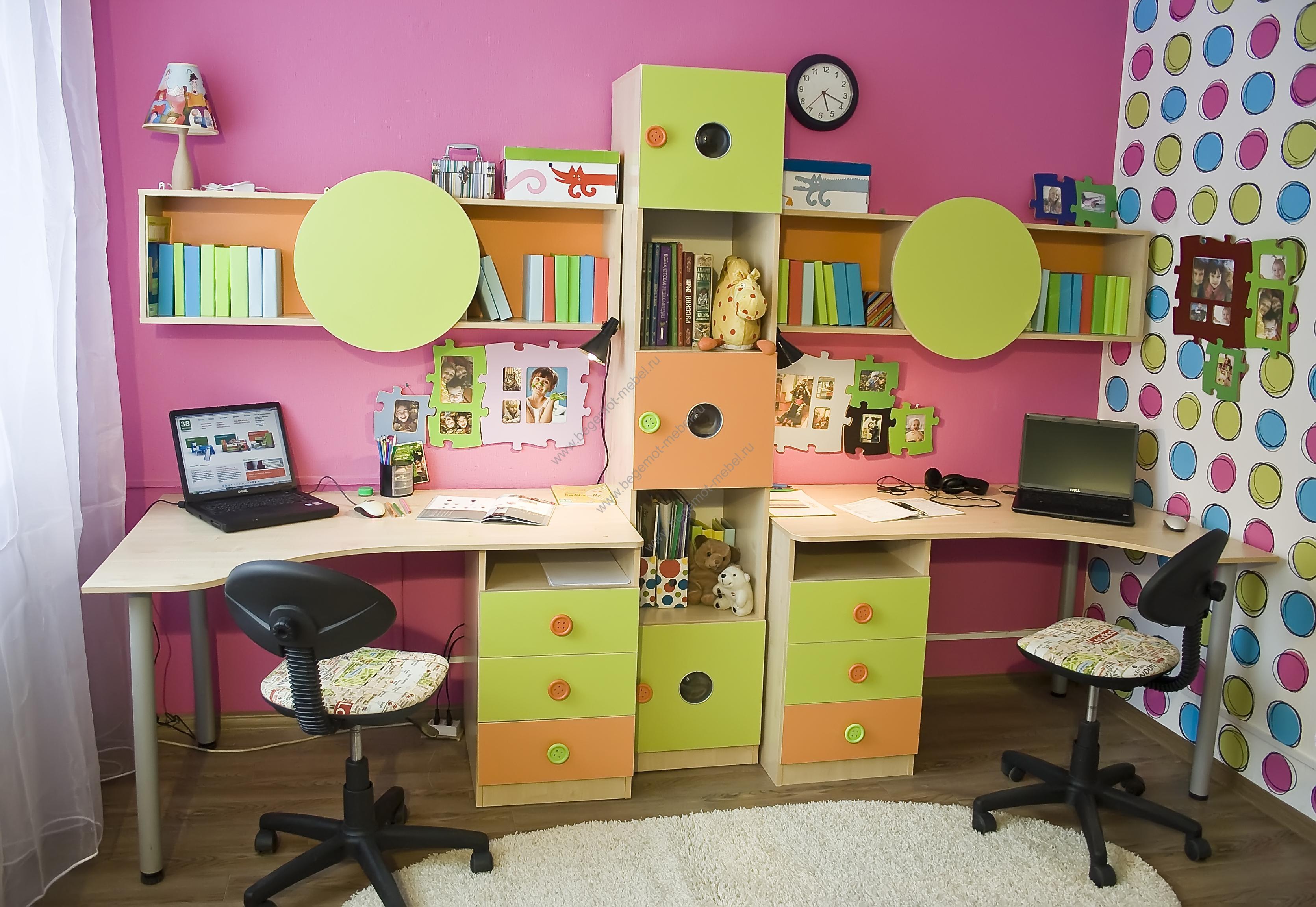 Выбираем стильное оформление комнаты для детей