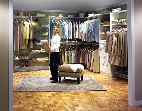 Выбор гардеробной сетчатого типа