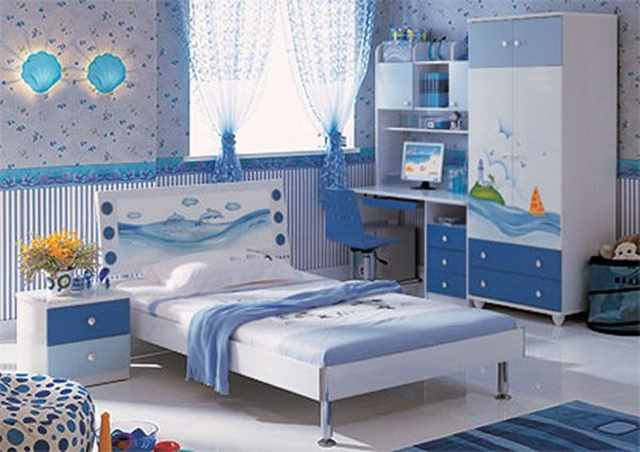 Выбор мебели в детскую комнату мальчика