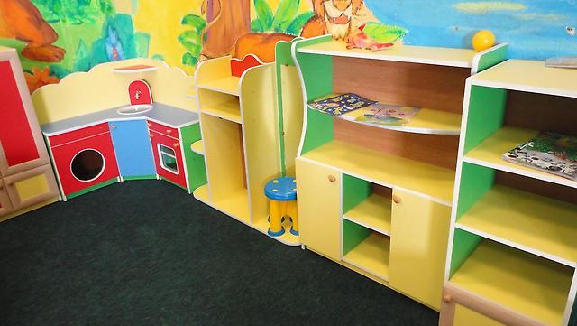 Яркая современная детская игровая мебель