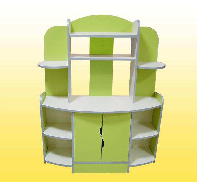 Зеленая детская игровая мебель