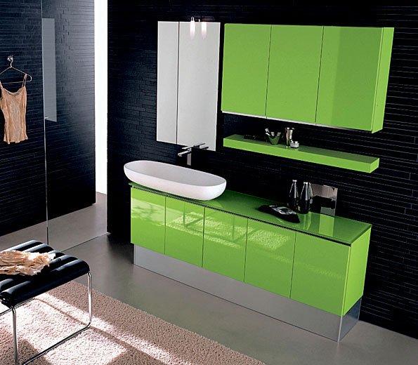 Зеленая пленка для оклейки мебели