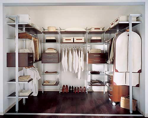 система хранения гардеробной