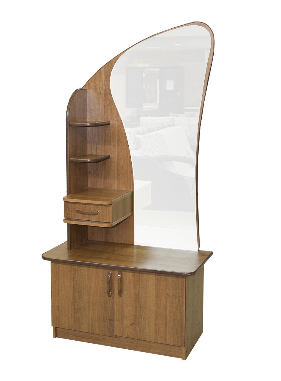 Тумба с зеркалом в прихожую станет помощником и украсит инте.