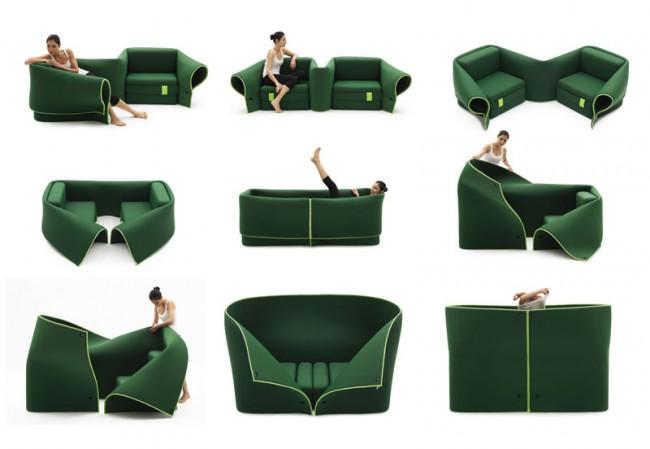Дизайнерская мультифункциональная мягкая мебель