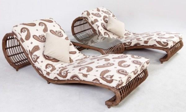 Дизайнерская плетеная мебель