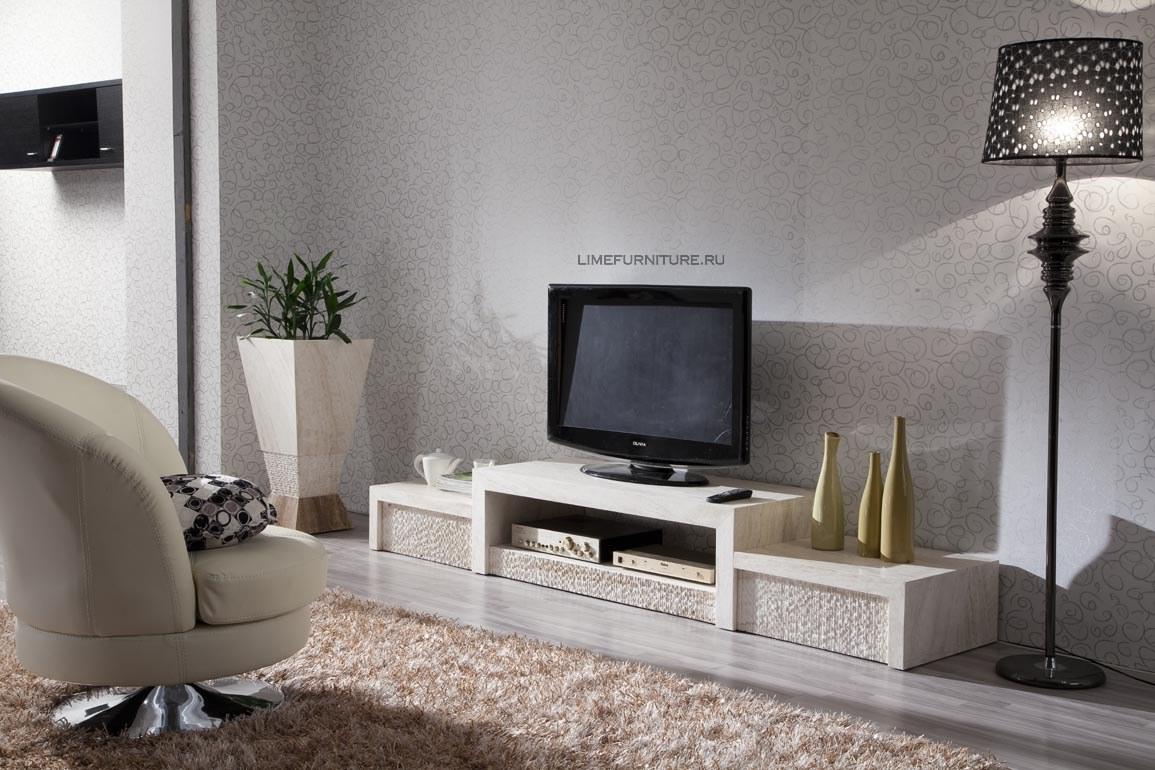 Элитная длинная тумба под телевизор