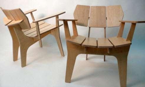 Фанерные стулья
