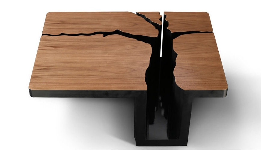 Фантазия дизайнера разгулялась на славу, когда он работал над созданием этого столика