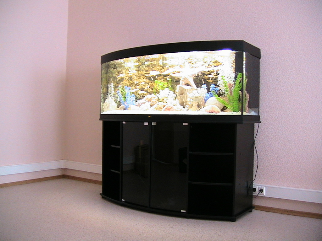 Фигурный аквариум