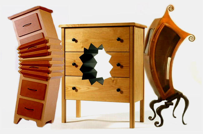 Фото необычной домашней мебели