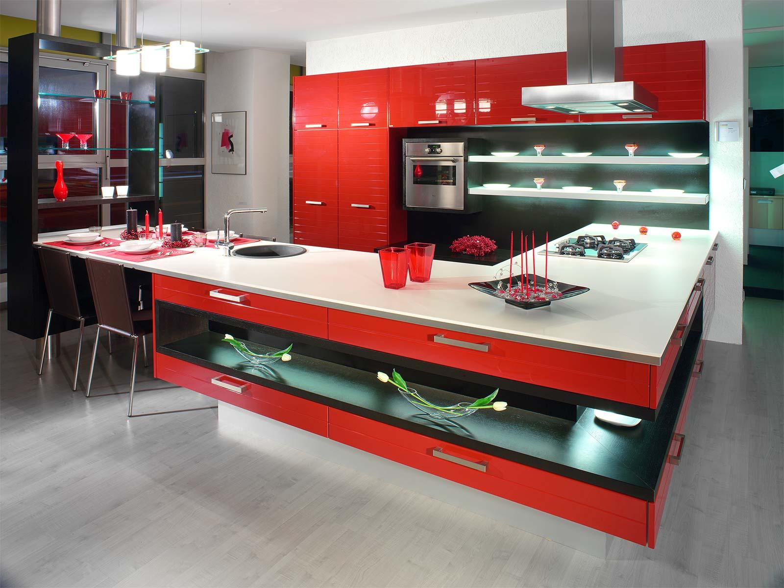 Интерьер и дизайн мебели кухня