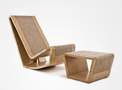 Изделия из фанеры - креативная мебель из фанеры