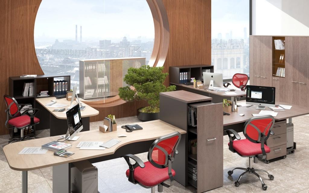 Как правильно расположить рабочие места в офисе