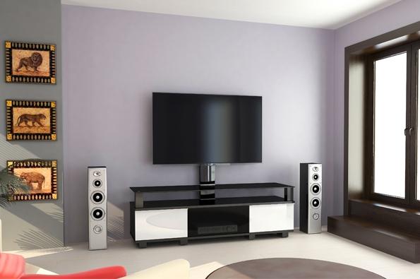Как установить телевизор в гостиной