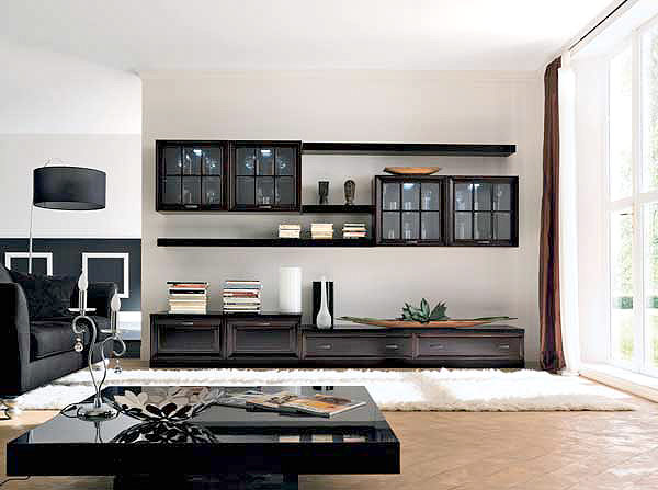 Как выбрать цвет мебельной стенки