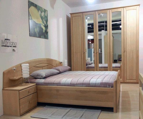 Как выглядит набор мебели для спальни из бука