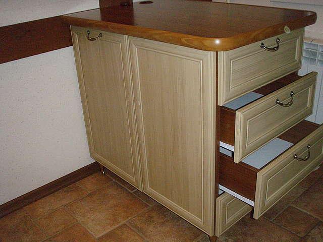 Кухонная тумбочка с ящиками своими руками