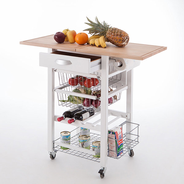 Кухонный разделочный стол тумба