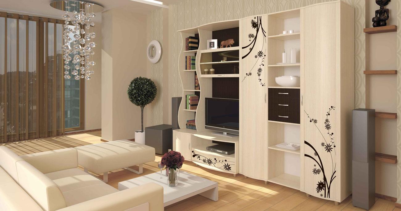 Мебель модульная для зала