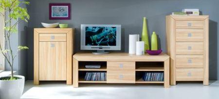 Мебель цвета бук - как подобрать стиль интерьера гостиной