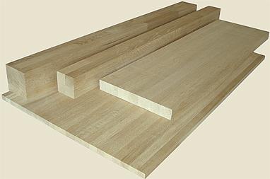 Мебельный дубовый щит