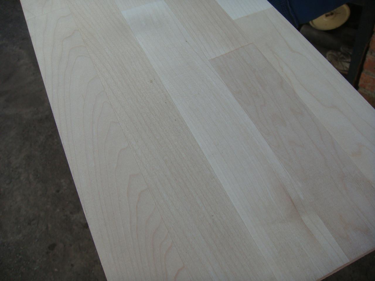 Мебельный щит из клена