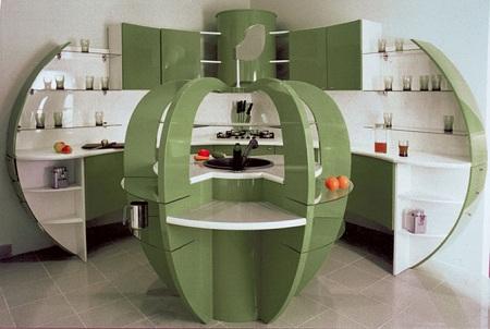 Необычная кухонная мебель