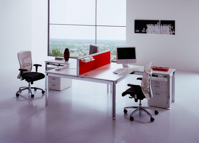Офис в белом цвете