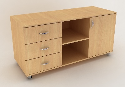 Офисная тумба – пример универсальности в мире мебели