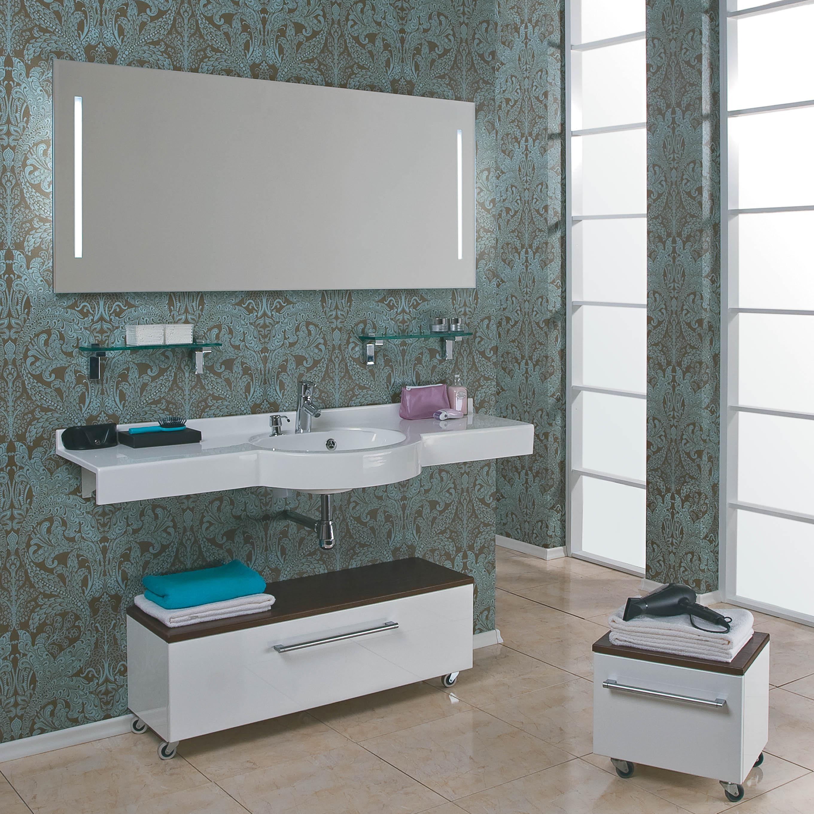 Оформление ванной комнаты