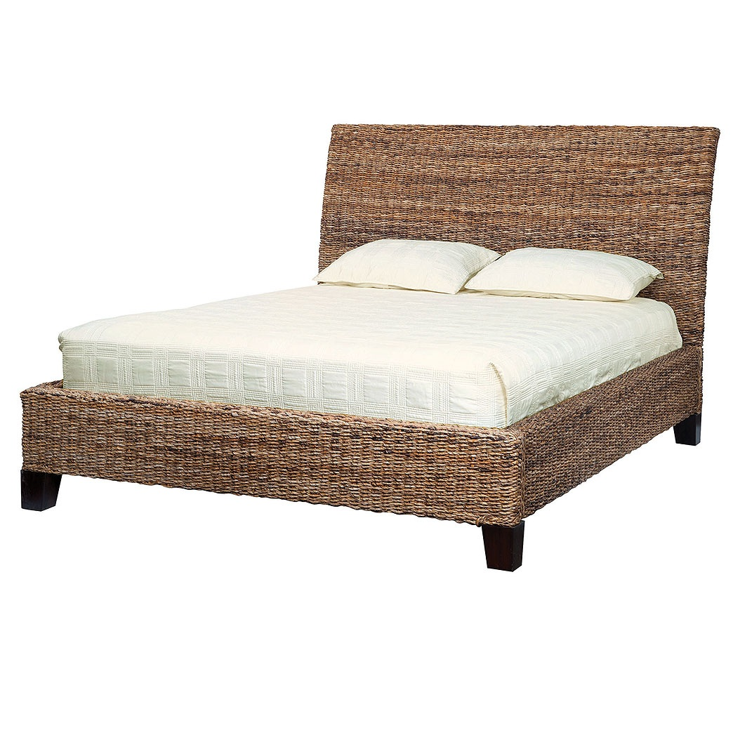 Кровать из лозы