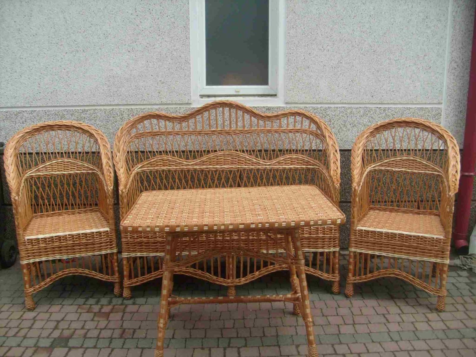 Плетеная мебель из лозы собственное производство