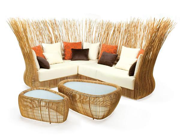 Плетеная мебель от дизайнера
