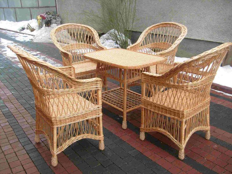 Плетеная мебель в вашем доме