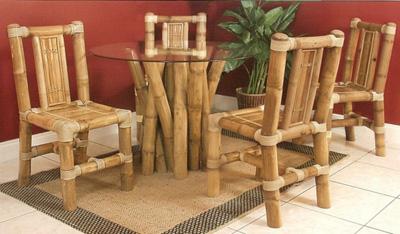 Плетёная мебель из бамбука