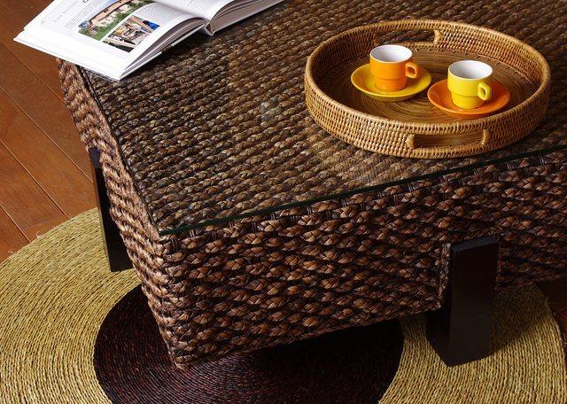 Плетёная мебель из корней водяного гиацинта