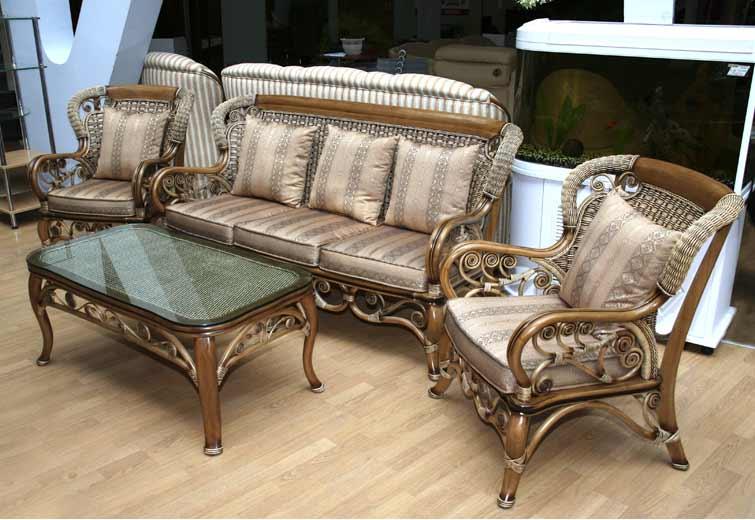 Популярная плетеная мебель