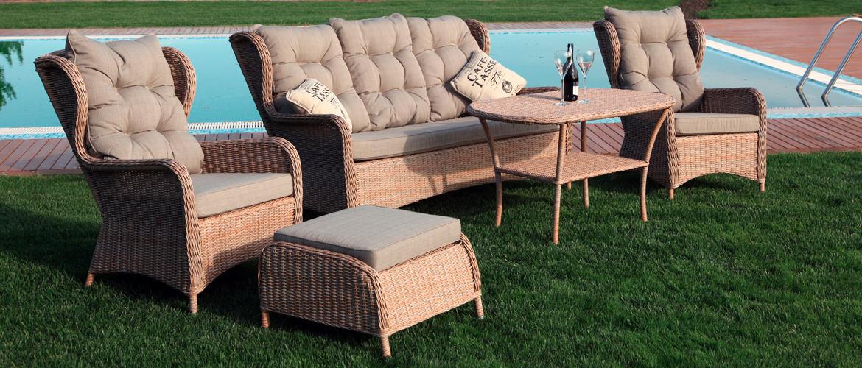 Популярность плетеной мебели