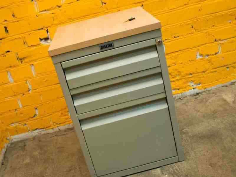 Практик тумба офисная архивная металлическая