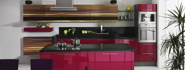 Правила сочетания цвета мебели и плитки на кухне