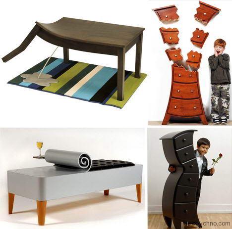 Самая необычная мебель