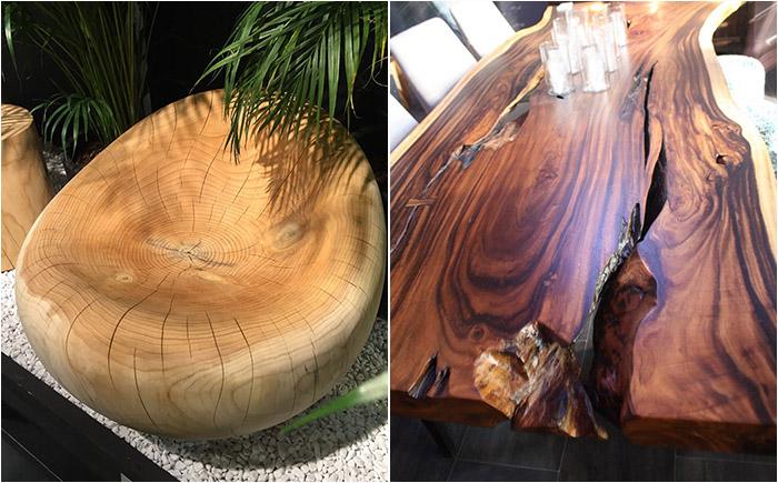 Современный дизайн для экоматериалов - самая необычная мебель из дерева