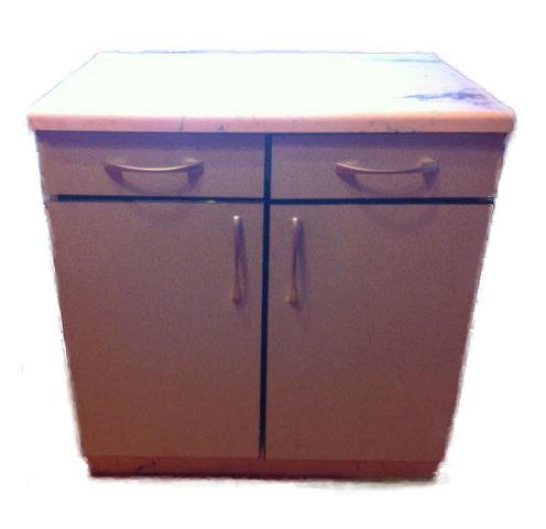 Стол-тумба кухонный с двумя выдвижными ящиками