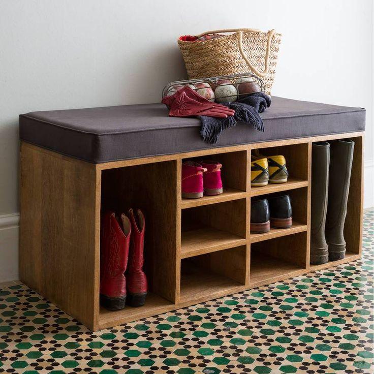 Тумба для обуви - самые простые и эргономичные решения для прихожей